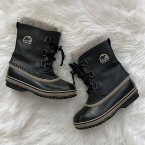 Sorel Snow Boot Cinch Lace Up Classic Waterproof